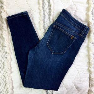 Joe's Jeans Stretchy Skinny Ankle Dark Wash Jeans